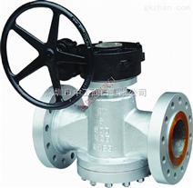 进口高压旋塞阀法兰连接、进口高压旋塞阀对焊连接