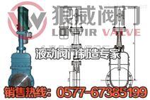 电液动暗杆刀型闸阀-DMZ273X