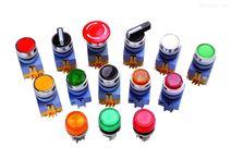 AL6M-A11PG圆形点动进口日本idec和泉照明按钮开关AL6M-A21PR自锁电压5V