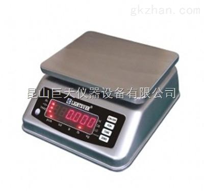 精度1g/3000g防水秤,误差1g/3000g防水桌称