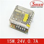 Smun/西盟单组输出15w24v开关电源