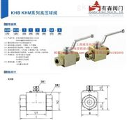 KHB3K-M22×1.5_外螺纹液压高压三通球阀