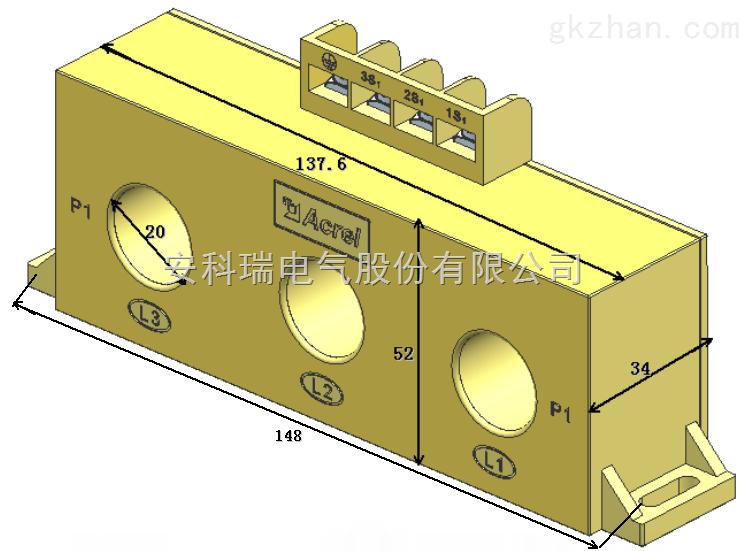 3*Φ20 150/5A  电流互感器 安科瑞