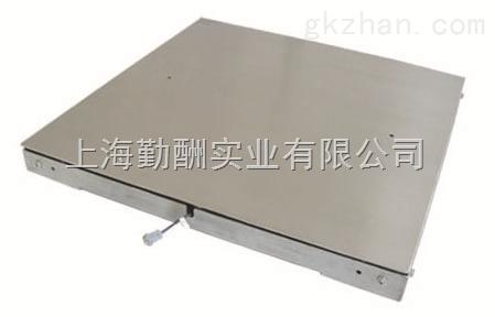 SCS-3t带引坡电子地磅秤,双层地磅/碳钢电子磅秤