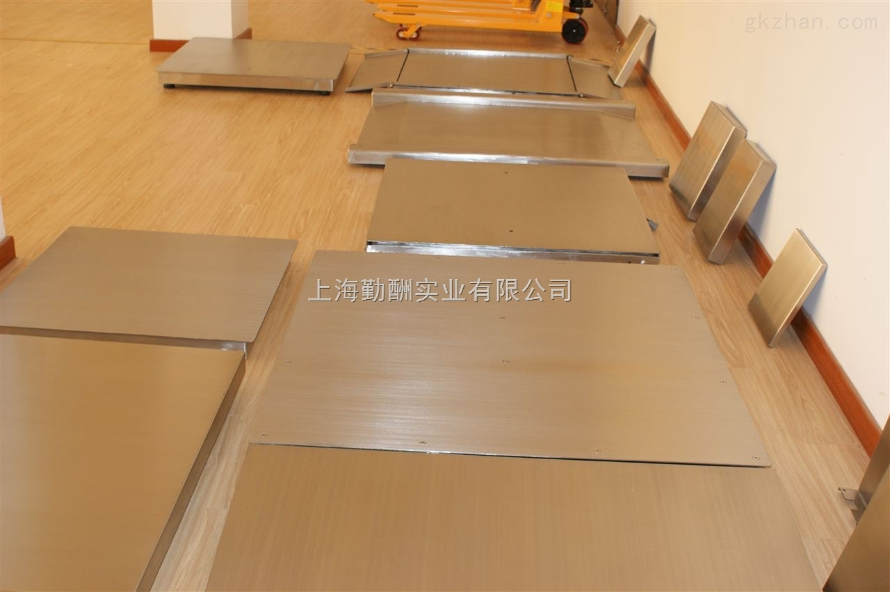 上海集贸市场一米不锈钢单层地磅秤销售点