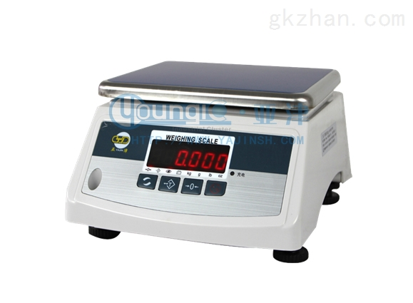 上海亚津3kg双面电子防水秤
