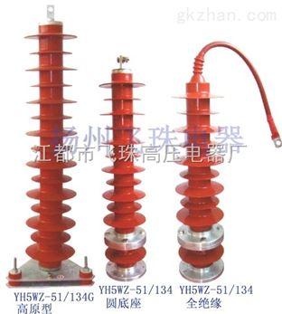 高压避雷器型号_YH5WZ-42/120-YH5WZ-51/134无间隙电站型避雷器-江都市飞珠高压电器厂