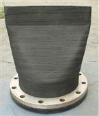 上海渤海专用防止潮水倒灌专用DN300法兰式鸭嘴阀 排污橡胶止回阀