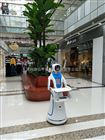 无轨送餐机器人入驻蓝海酒店