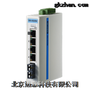 EKI-5525M研华1光4电百兆非网管型工业交换机
