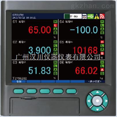 直供多路无纸记录仪 温度/压力/流量仪
