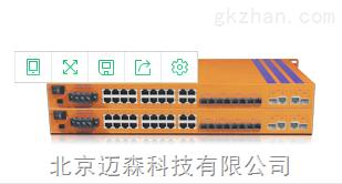 恒启千兆网管型工业交换机HES26MC-2G