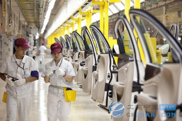 中国企业500强发布 制造业三年连续下跌_中国