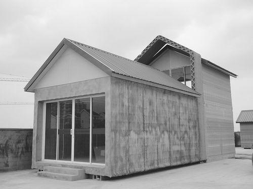 两层钢结构房子图片