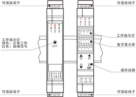 x32-单双通道智能温度变送器